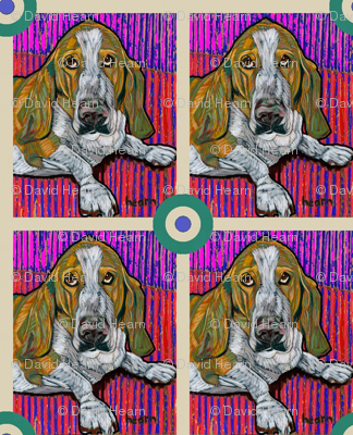 Basset Hound Bullseye