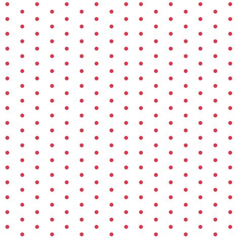 Christmas Star Red Dots on White fabric by floatinglemonsart on Spoonflower - custom fabric