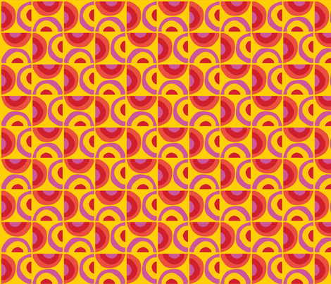 Sunrise Sunset fabric by acbeilke on Spoonflower - custom fabric