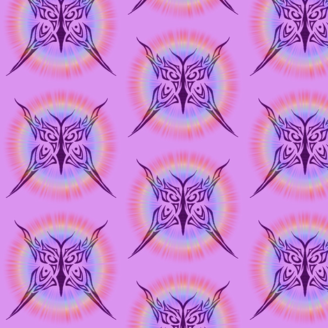 Butterfly Halo fabric by ladyleigh on Spoonflower - custom fabric