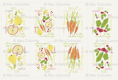 Fruit and Vegetable Sacks| alexcolombo.com