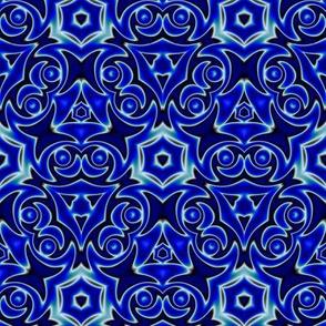 Moroccan Blue Pattern