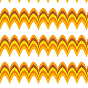 Twiggy Bargello orange