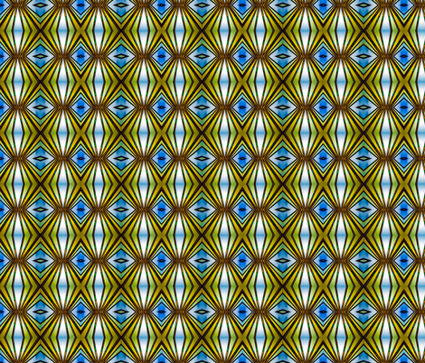 Art Deco Lamp Symmetry fabric by galleryhakon on Spoonflower - custom fabric