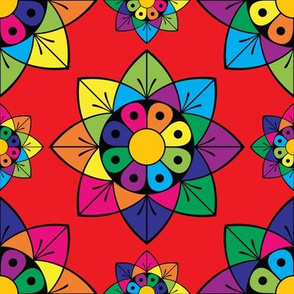 Colourful Floral Pattern
