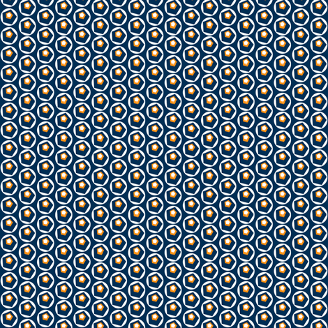 Geo Dot Complex Navy fabric by courtandspark on Spoonflower - custom fabric