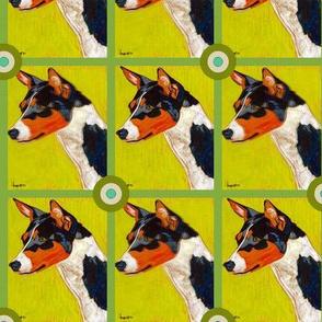 Basenji Bullseye