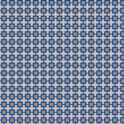Family Feud (Blue/Beige) fabric by shannonmac on Spoonflower - custom fabric