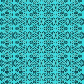 Tribal Stripes (turquoise)