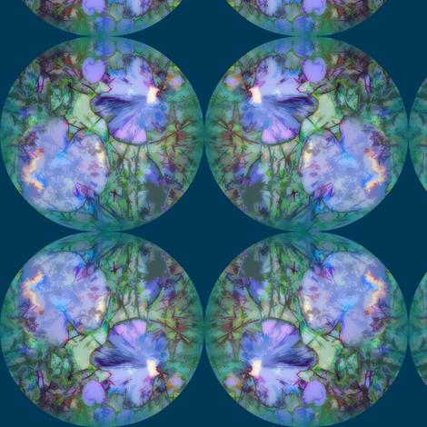 Fungi Spots L - Peacock fabric by tequila_diamonds on Spoonflower - custom fabric