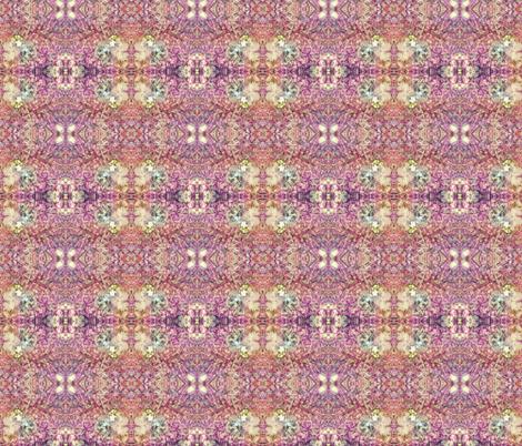 Fungi Kaleidoscope - fuchsia fabric by tequila_diamonds on Spoonflower - custom fabric