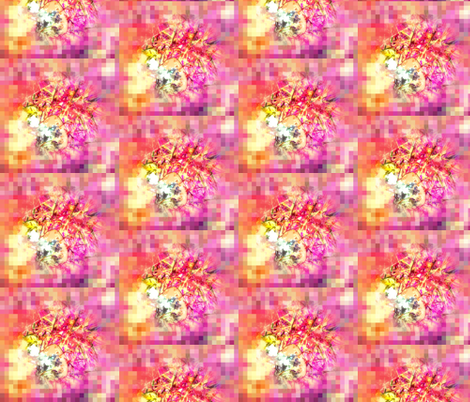 Princess Dot's Flowers fabric by tequila_diamonds on Spoonflower - custom fabric