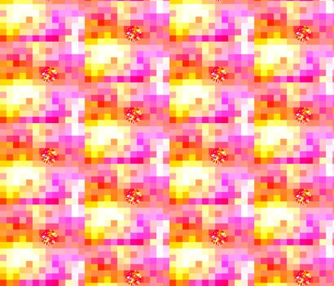 Princess Dot's Bricks fabric by tequila_diamonds on Spoonflower - custom fabric