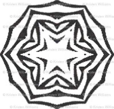 Tribal Coins (black and white)