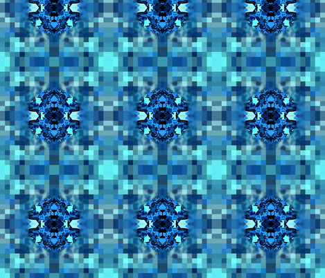 Submerged Spot Check fabric by tequila_diamonds on Spoonflower - custom fabric