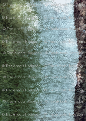 Mossy stripe - Forest Floor