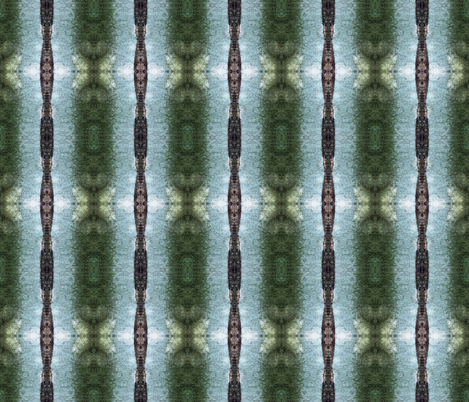 Mossy stripe - Forest Floor fabric by tequila_diamonds on Spoonflower - custom fabric