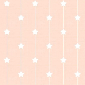 Star Path in Soft Peach