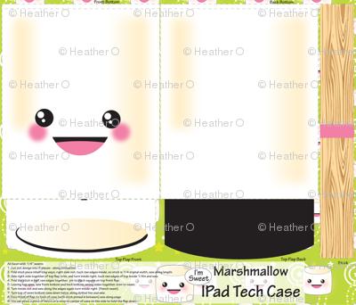 Marshmallow Ipad Case