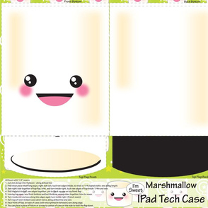 Marshmallow Ipad Case