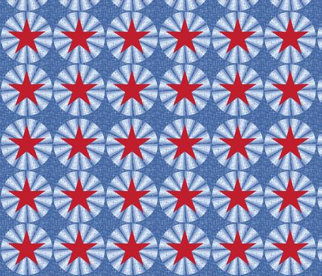 Aeronautical stars fabric by cjldesigns on Spoonflower - custom fabric