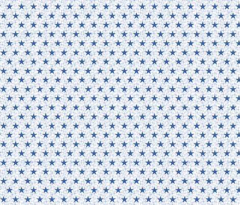 Small small blue on white fabric by cjldesigns on Spoonflower - custom fabric