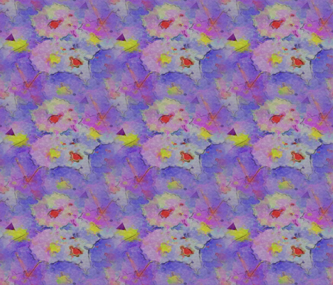 Shy Swan Circle fabric by anniedeb on Spoonflower - custom fabric