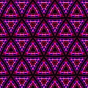 Pink Triangles Tessellation Pattern