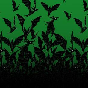 Night Hunter vertical - emerald