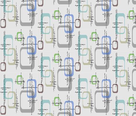 Dusty Squares fabric by retroretro on Spoonflower - custom fabric