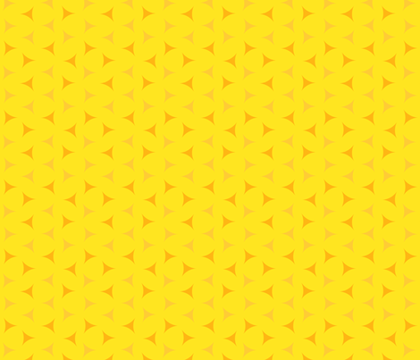 Sunny day small scattered triangles fabric by victorialasher on Spoonflower - custom fabric