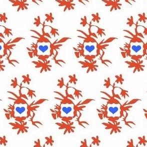 Botanically Framed Hearts