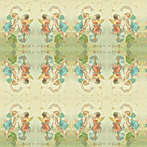 twins fabric by laurabotsford on Spoonflower - custom fabric