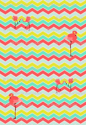 flamingo_chevron