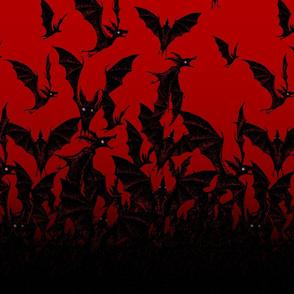 Night Hunter vertical - blood