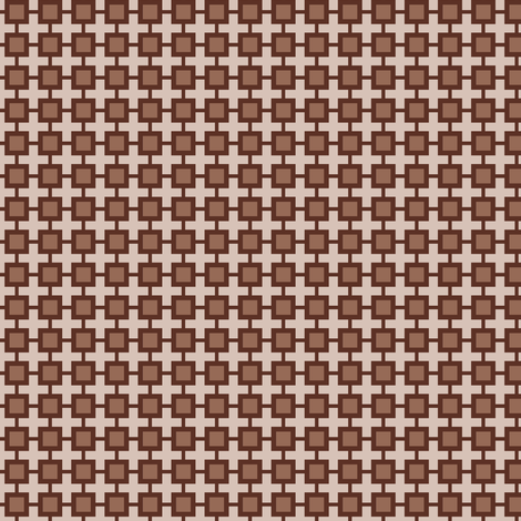 Family Feud (Brown) fabric by shannonmac on Spoonflower - custom fabric