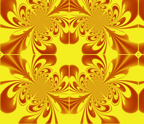 Butterscotch fabric by yewtree on Spoonflower - custom fabric