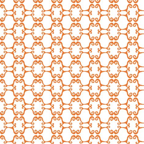 Medallion Stripes fabric by boris_thumbkin on Spoonflower - custom fabric