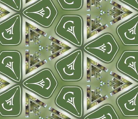 Garden Star 02 fabric by kstarbuck on Spoonflower - custom fabric