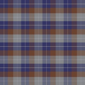 Plaid 2 - denim