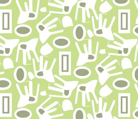 chair-softgreen fabric by funmimathewsdesigns on Spoonflower - custom fabric