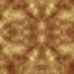 CLOUDY_ brown, yellow, white