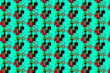 Chinoiserie Mod 2 fabric by boris_thumbkin on Spoonflower - custom fabric