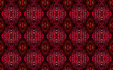 In The Abstract with pixilation - Vreeland fabric by tequila_diamonds on Spoonflower - custom fabric