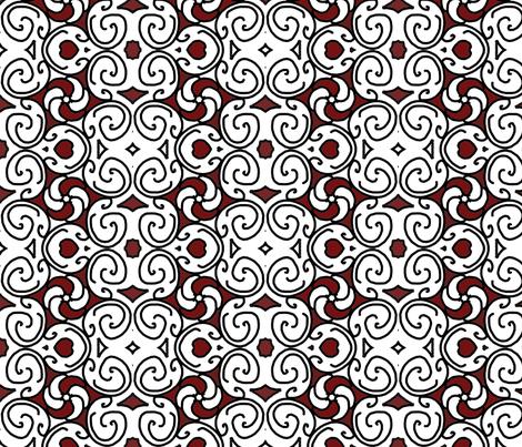 curves_ designer Lydia Falletti  fabric by artsylady on Spoonflower - custom fabric
