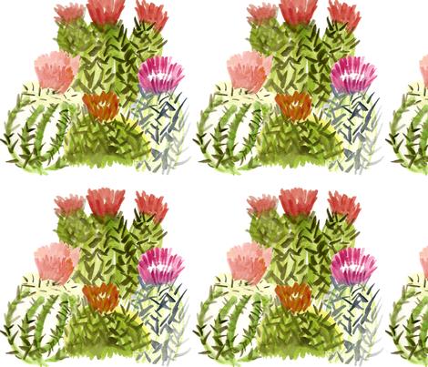 cactusfamily1 fabric by sára_emami on Spoonflower - custom fabric