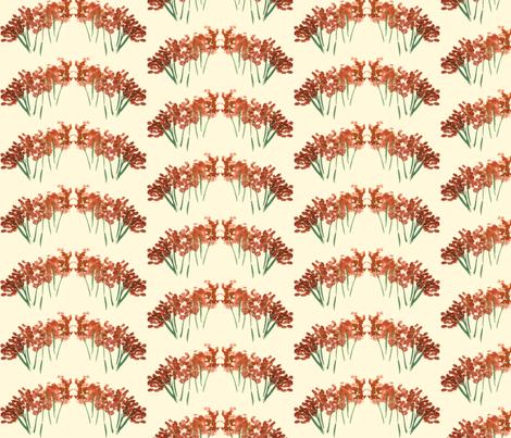 orangeflower-ed fabric by sára_emami on Spoonflower - custom fabric