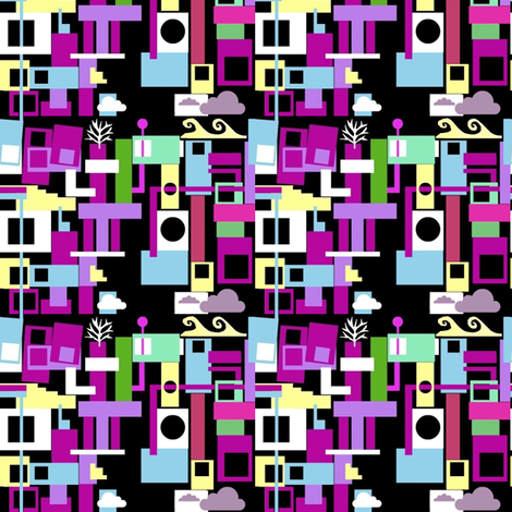 Cape Town fabric by boris_thumbkin on Spoonflower - custom fabric