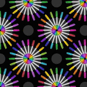 Spinning Markers