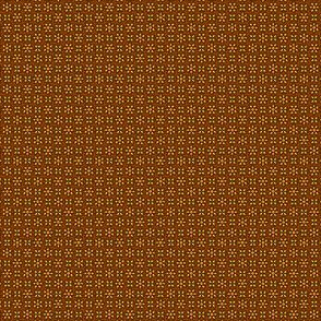 Floral Dot orange and rust © 2012 by Jane Walker